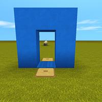 隐藏透明门