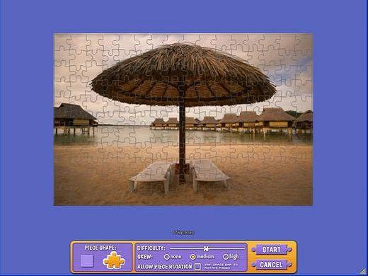 假日海滩拼图下载