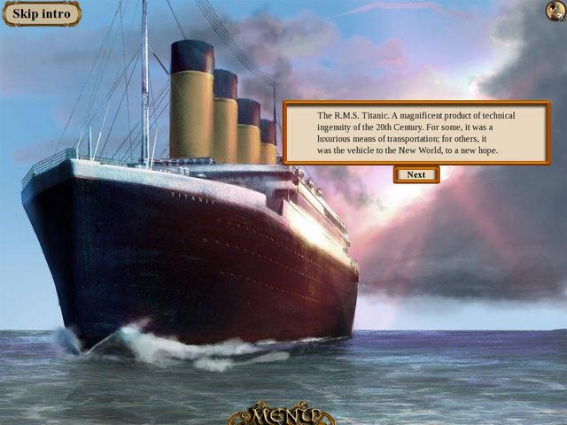 回到过去的泰坦尼克号钥匙下载