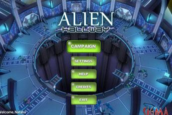 异形走廊(Alien Hallway)