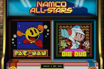 南梦宫之星(Namco All-Stars: PAC-MAN & DIG DUG)