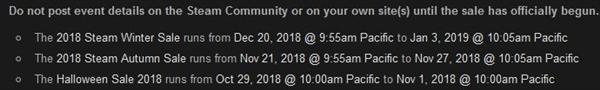 Steam万圣节特卖活动即将开始