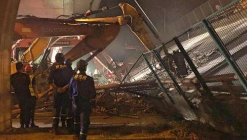 无锡高架救援现场高清图 无锡高架桥坍塌原因是什么最新消息介绍