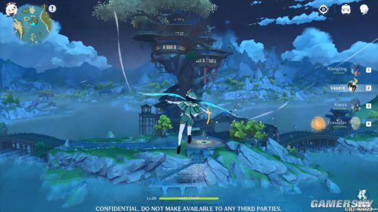 《原神》12分钟新演示 开放世界探索战斗、做饭