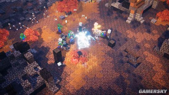 《我的世界:地下城》新中文预告 探索迷宫乐趣无限