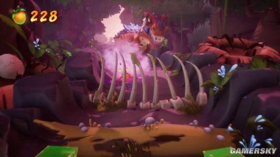 《古惑狼4》17分钟实机演示 时间延缓装备+反派试玩