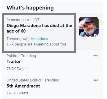 阿根廷球迷悼念马拉多纳现场画面曝光 阿根廷全国哀悼三天