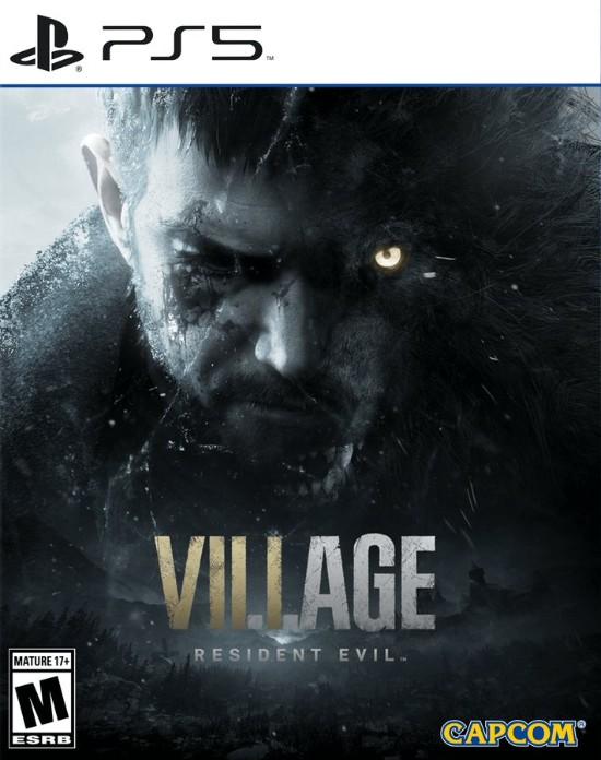 PS5《生化危机8:村庄》封面曝光 半狼人克里斯或在暗示剧情