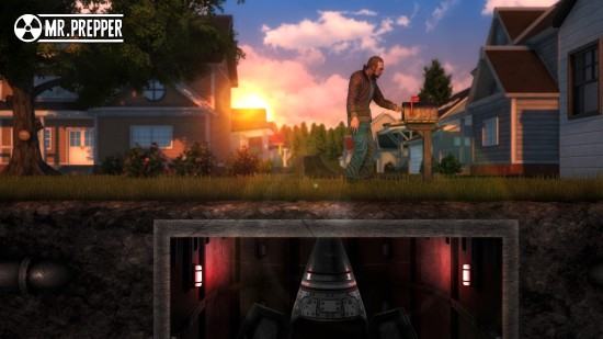 《末日准备狂》3月Steam发售 造避难所躲避警察