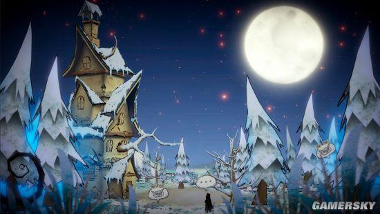 这款黑暗童话风游戏6.26登Steam 做木雕倾听访客故事