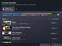Steam客户端测试版大修 全新下载页面和存储管理器