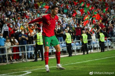 C罗戴帽助葡萄牙5-0大胜 C罗帽子戏法,天空才是他的极限!