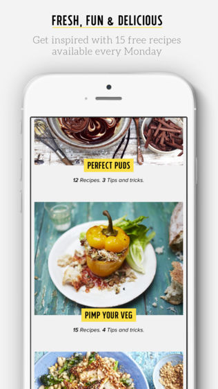 Jamie Oliver's Recipes软件截图0