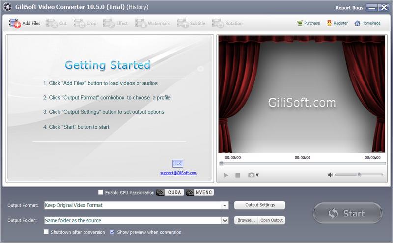 GiliSoft Video Converter下载