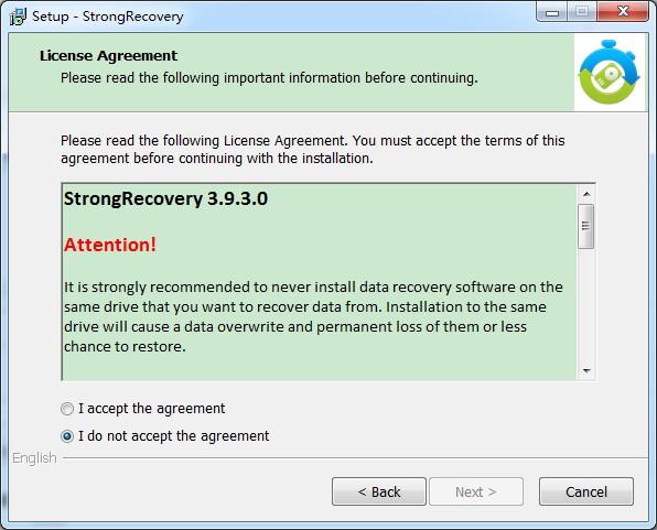 StrongRecovery(硬盘数据恢复)下载