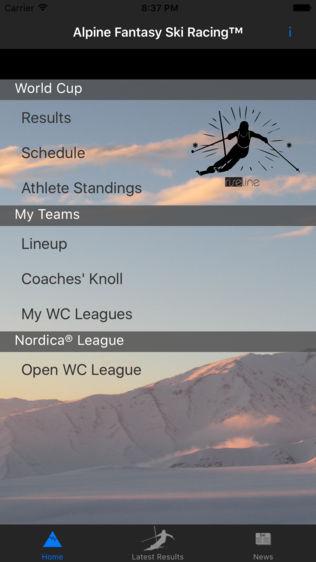 Alpine Fantasy Ski Racing软件截图0
