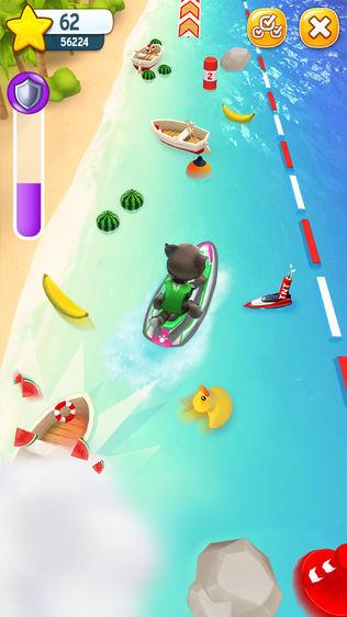 汤姆猫的摩托艇软件截图0