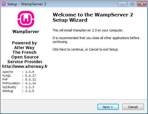 WampServer下载