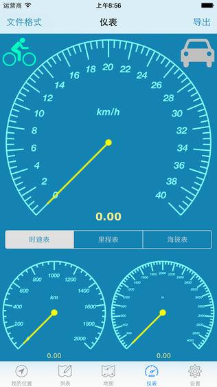 GPS位置记录与分享