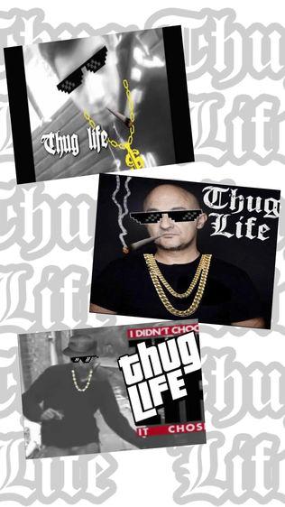 Thug Life 照片 编辑 贴纸 制作者软件截图0