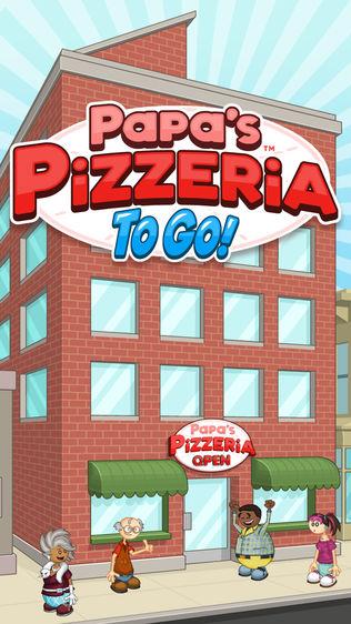 Papa's Pizzeria To Go!软件截图0