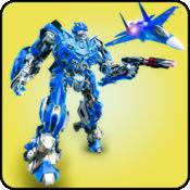 青苔战士机器人飞机
