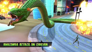 蟒蛇 蛇 模拟器软件截图0