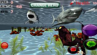 海龙鲨鱼攻击