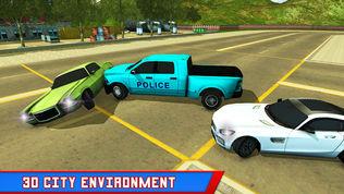 警察卡车小偷追逐软件截图2