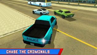 警察卡车小偷追逐软件截图1