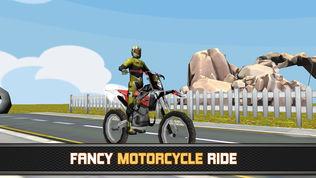 3D极速摩托 : 一起来飙飞车软件截图0