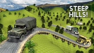 越野大号卡车模拟器3D驾驶学校软件截图0