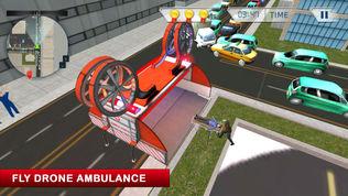 911救护车救护车救援直升机模拟器3D游戏软件截图1