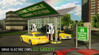 电动汽车出租车司机3D模拟器软件截图0