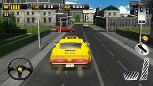 电动汽车出租车司机3D模拟器软件截图2