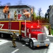 救援消防卡车模拟器游戏