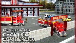 救援消防卡车模拟器游戏软件截图0