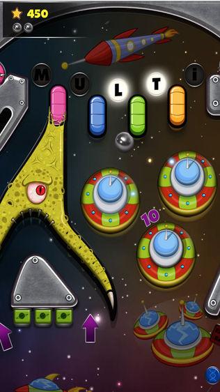 复古弹珠:太空冒险软件截图1