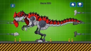红色暴龙机器恐龙软件截图1