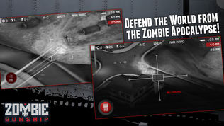 Zombie Gunship: Gun Down Zombies软件截图1
