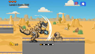 沙漠霸王龙机器恐龙部队软件截图1