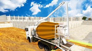 小山卡车挖掘机起重机:建筑模拟器软件截图0