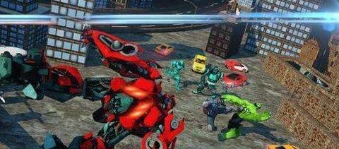 机器人城市战斗游戏软件截图1