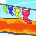 绳索炽热熔岩救援游戏