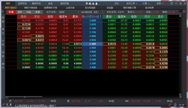 华林证券汇点股票期权交易系统下载