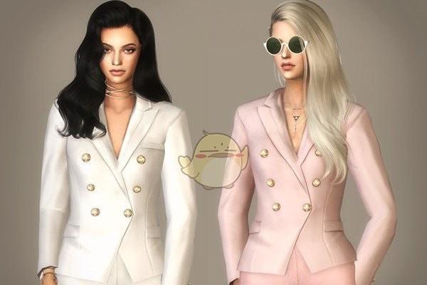 模拟人生4女性商务服装MOD下载