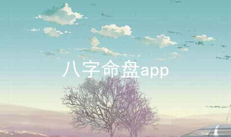八字命盘app
