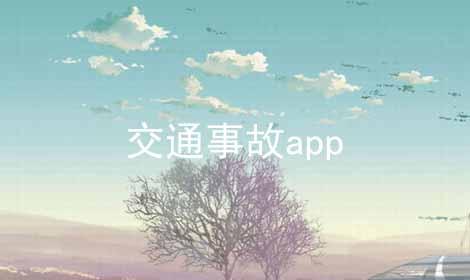 交通事故app软件合辑