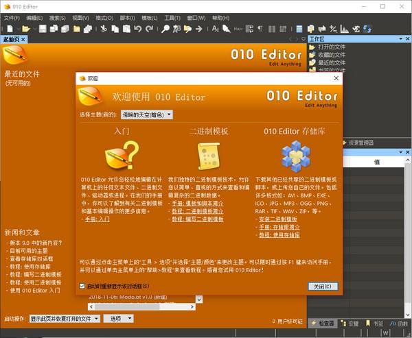 十六进制编辑器(010 Editor 32位)下载