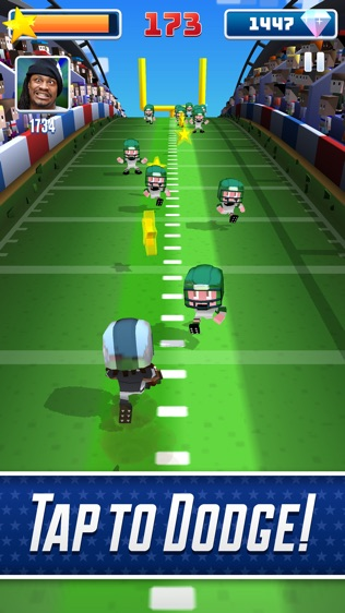 Marshawn Lynch Blocky Football软件截图1